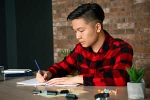 Study habits of student learning language