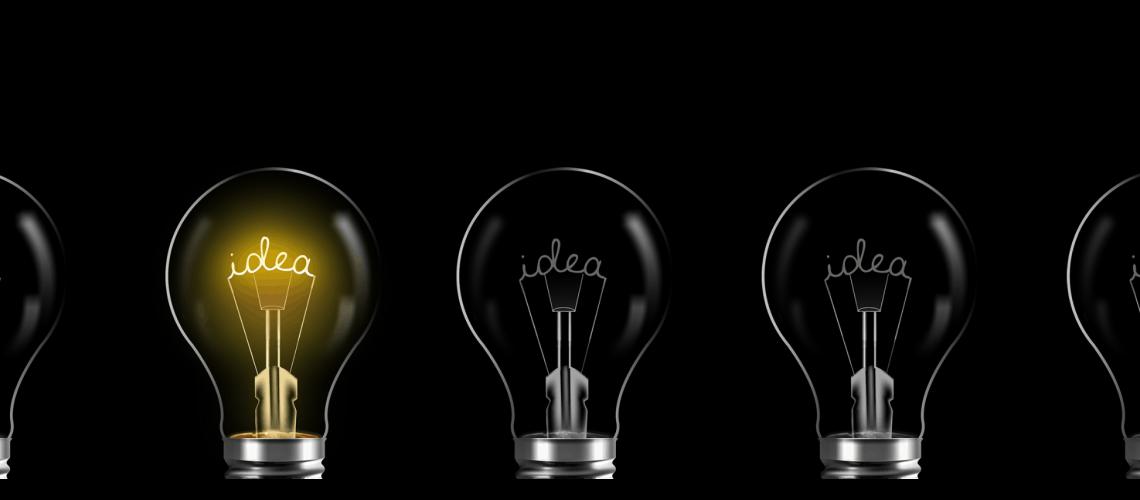 Light bulb photo illustration